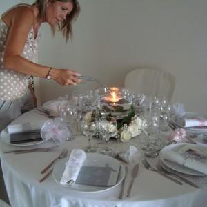 Décoration de table pour mariage