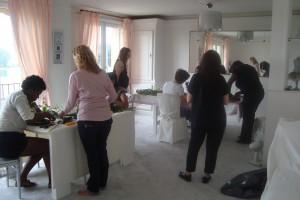 Atelier de designer de mariage / art floral