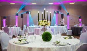 Déco de table de mariés