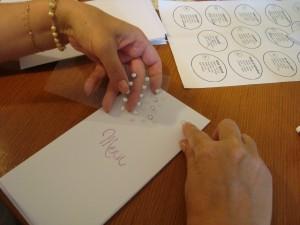 Atelier de décoration pour wedding planner